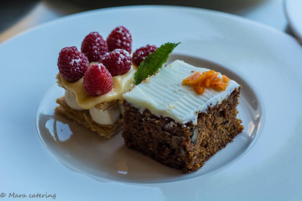 tarta de zanahora mara catering servicio de catering madrid evento empresa precio catering