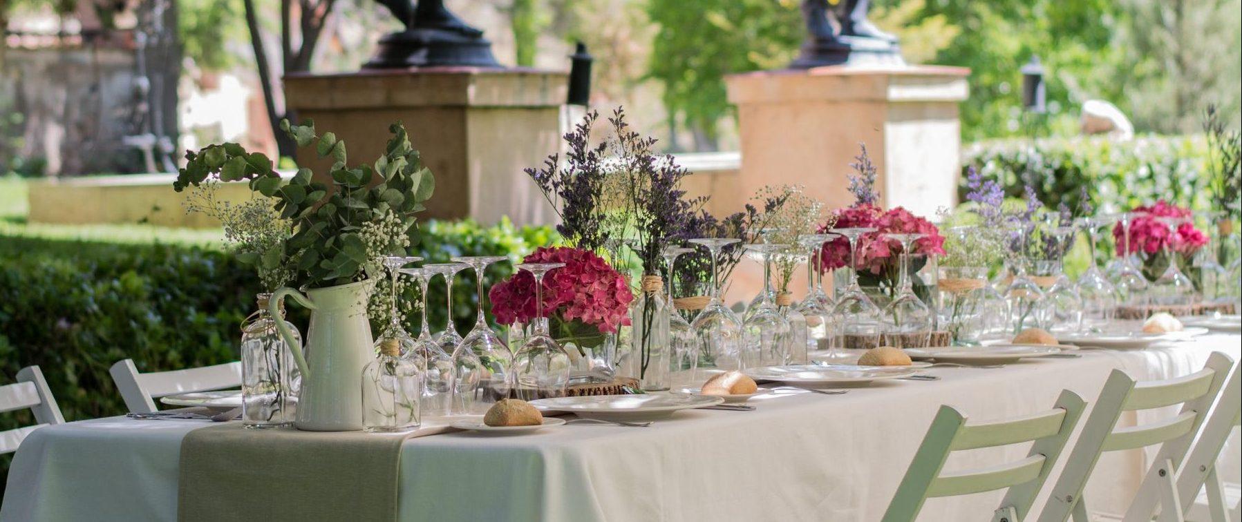 mara catering almuerzo madrid evento corporativo organziación boda mesa servicio de catering