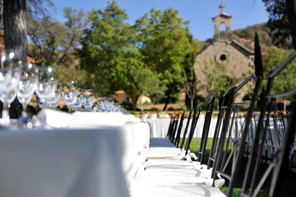 mesa en el jardin boda cutamilla finca evento maracatering madrid guadalajara